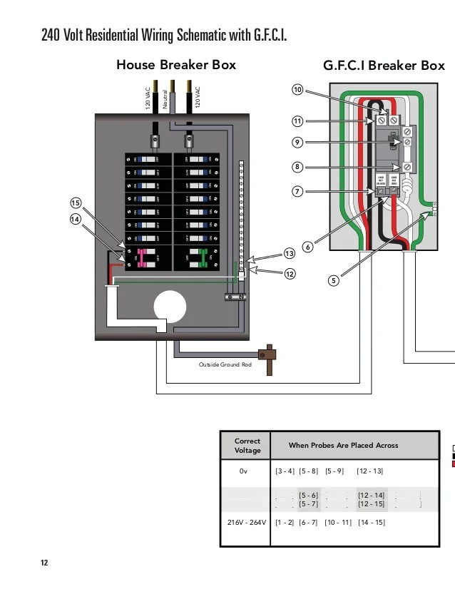 120 Volt Wiring Diagram & How To Wire A 240 Volt Circuit See