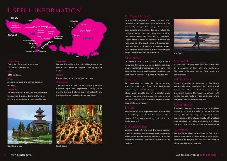 Tour Brochure Examples Ideal Vistalist Co