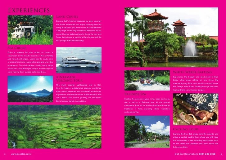 Examples Of A Travel Brochure Ideal Vistalist Co