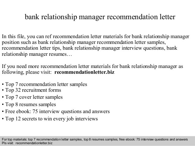 Free Resume For Bank Manager