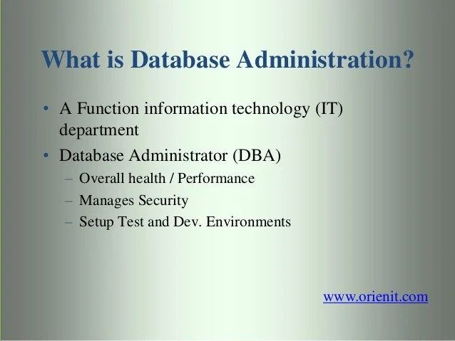 Database Security Tools