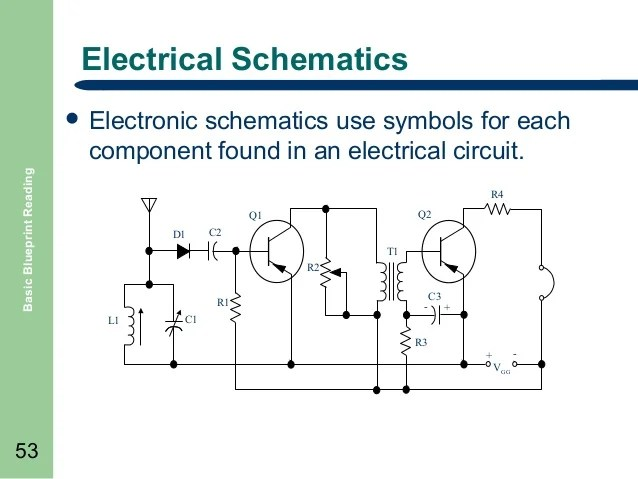 Learn To Read Electrical Schematics Electrical Schematics Symbols