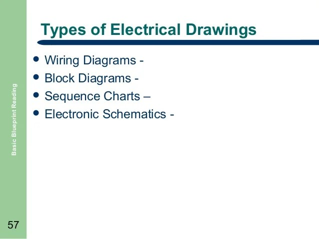 Types Of Electrical Drawings Facbooik Com