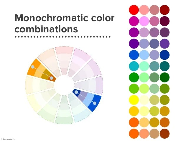 Chromatic Scheme Examples Color