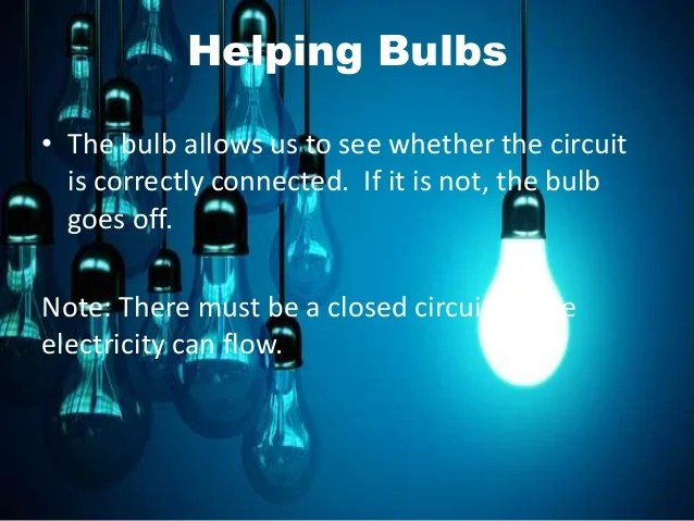 What Happens When You Break A Bulb In A Series Circuit
