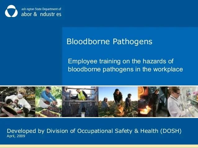 Bloodborne Pathogen Training by Washington L&I