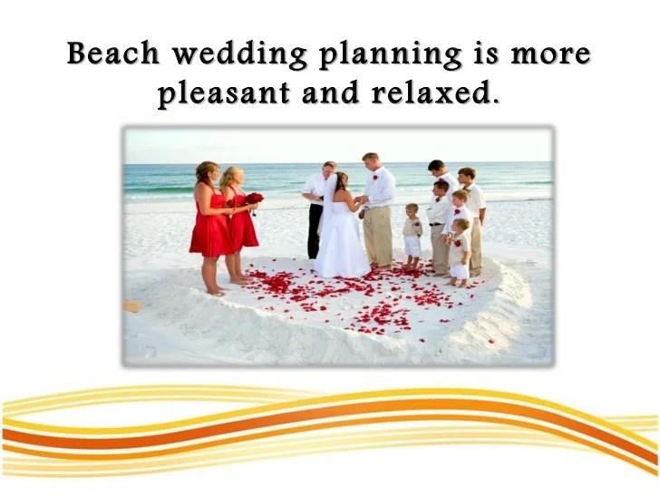 Planning Beach Wedding Budget