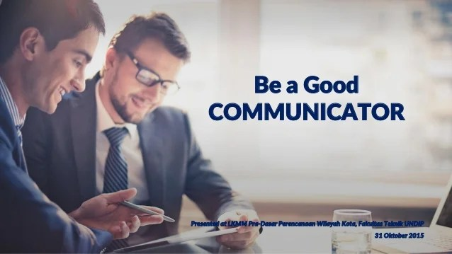 Hasil gambar untuk Good Communicator
