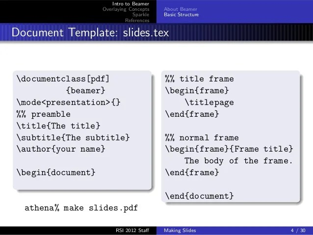 Latex Beamer Frame Title Subtitle | Amtframe org