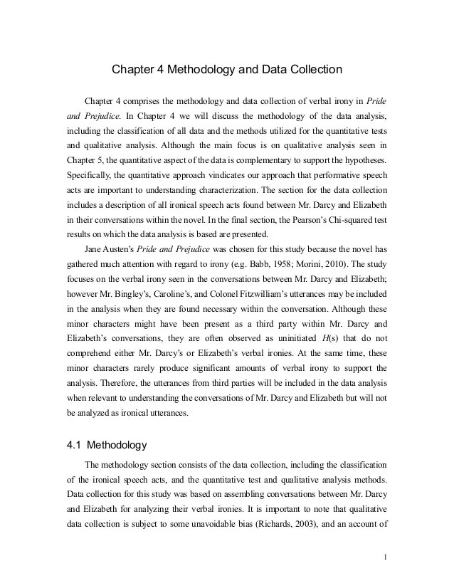 Kris' Dissertation Chapter 4 Methodology And Data Collection