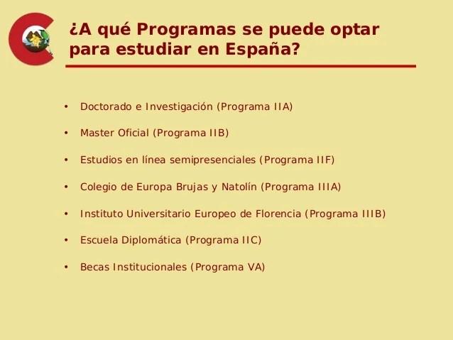 Becas Maec Aecid España 2013 2014