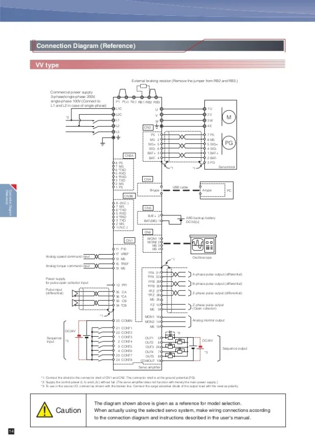 Servo Motor Connections Diagrams | Automotivegarage.org