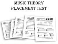 Beginner music theory worksheets