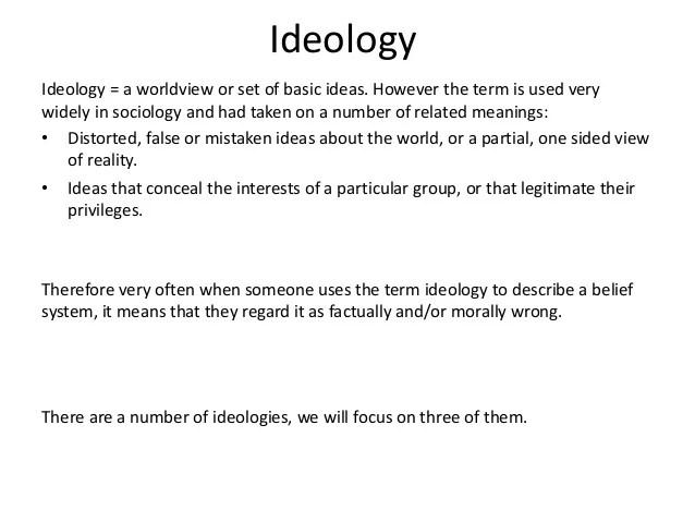 Unit 3 Sociology Beliefs in society