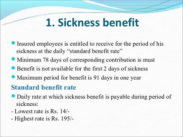 Benefits Medical Insurance