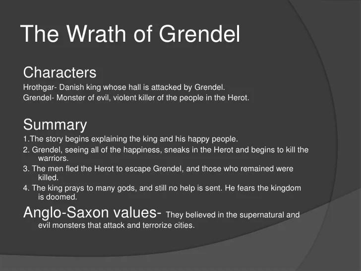 the wrath of grendel