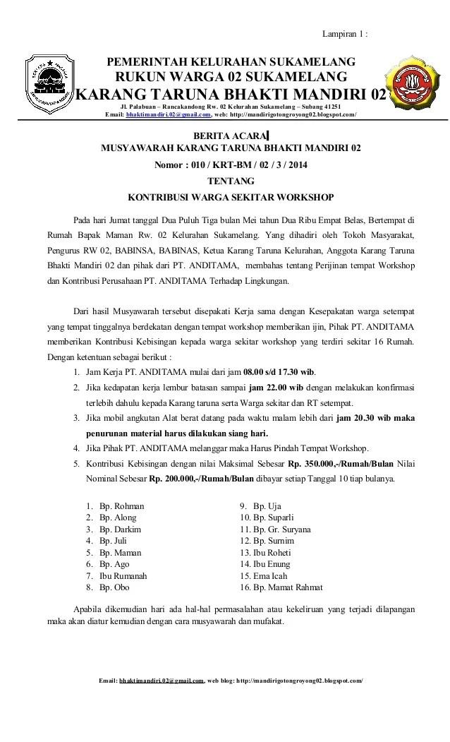 Contoh Surat Undangan Rapat Wali Murid Tk - Sample Surat ...