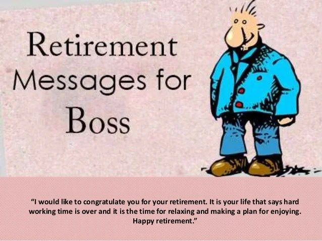 best retirement wishes messages