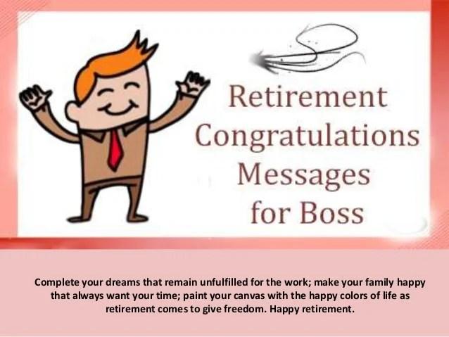 Retirement Cake Wishes Wording
