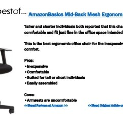 Best Inexpensive Ergonomic Office Chairs Chair Connected To Desk The 8 33 And Those Are
