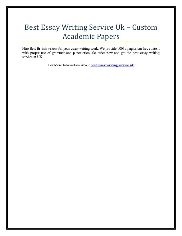 Academic writing services blog