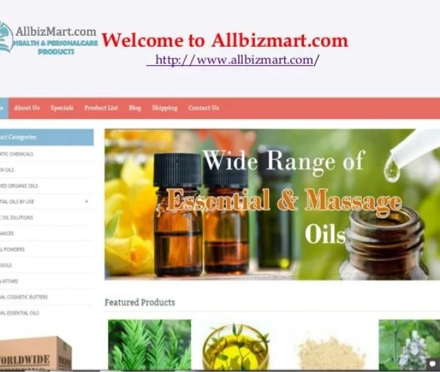 Buy Essential Oils Online Welcome To Allbizmart Com Www Allbizmart Com