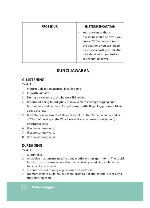Berikut kita dibahas kunci jawaban contoh soal untuk latihan penilaian akhir semester (pas) maupun ulangan akhir semester (uas) materi matematika sma kelas 12 (xii) semester 1 (ganjil) tahun 2020 seperti yang dikutip dari tribun. Soal Bahasa Inggris Peminatan Kelas 12 Semester 1 Dan