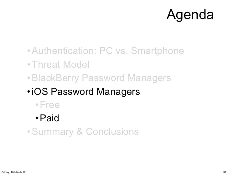 Secure Password Managers and MilitaryGrade Encryption