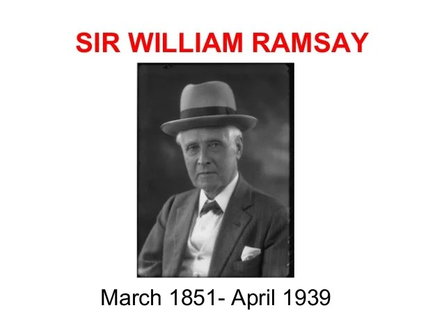 Image result for sir william ramsay archaeologist