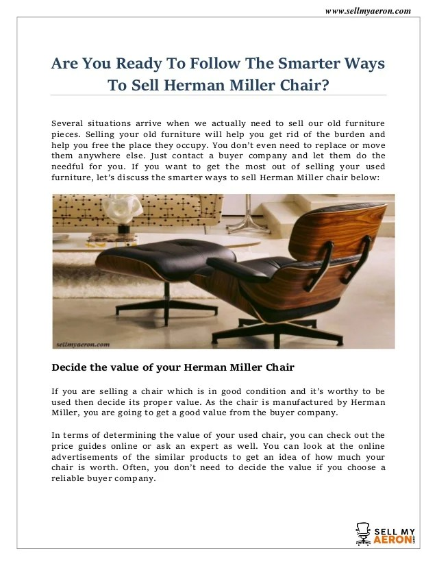 herman miller chair sale tantra size biggest buyer of used sell my aeron