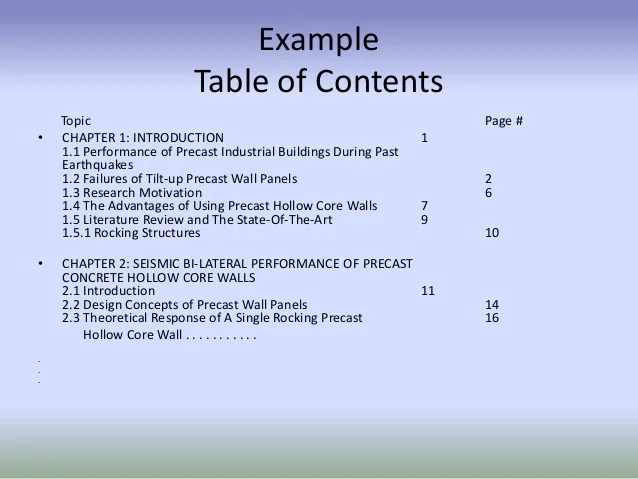 Technical Report Writing Format Of Final Year Project's