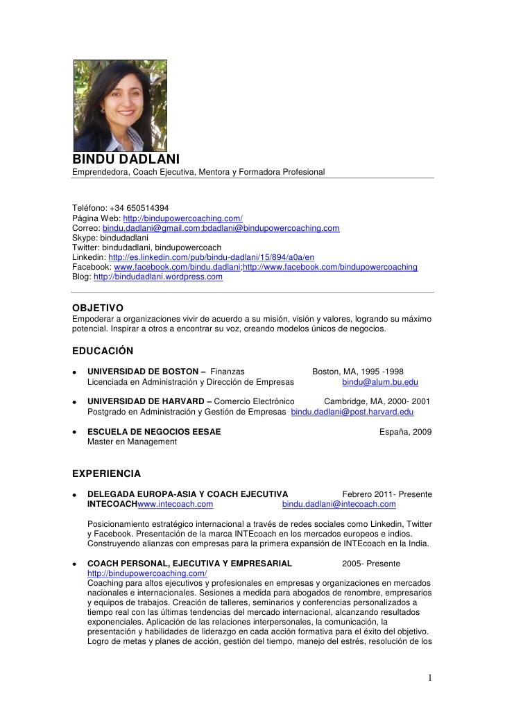 Ejemplos De Resumen Ejecutivo Pdf Resume Format For Office Boy