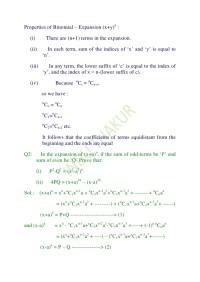 Binomial Expansion Worksheet Photos - Roostanama