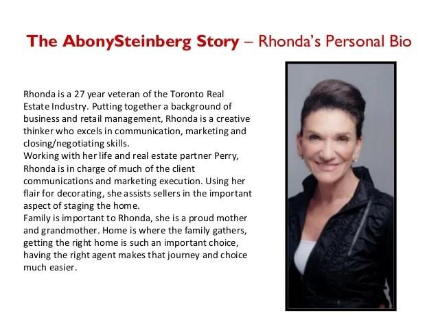 Rhonda Abony Amp Perry Steinberg Business Profile