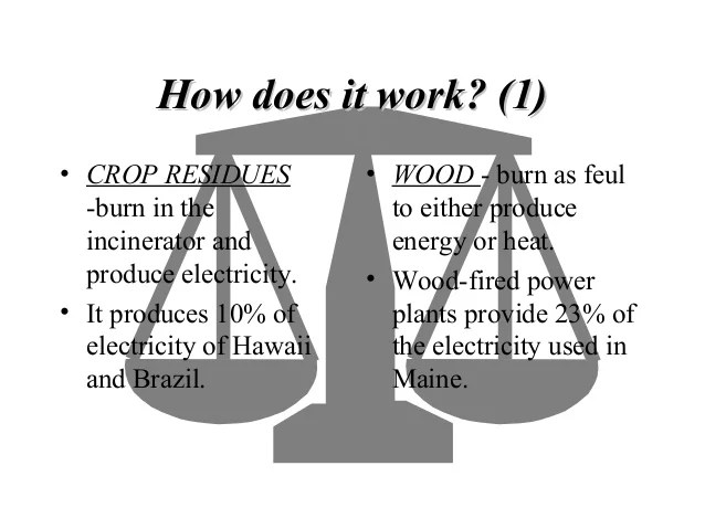 Biomass Energy Sys