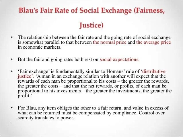homans social exchange theory
