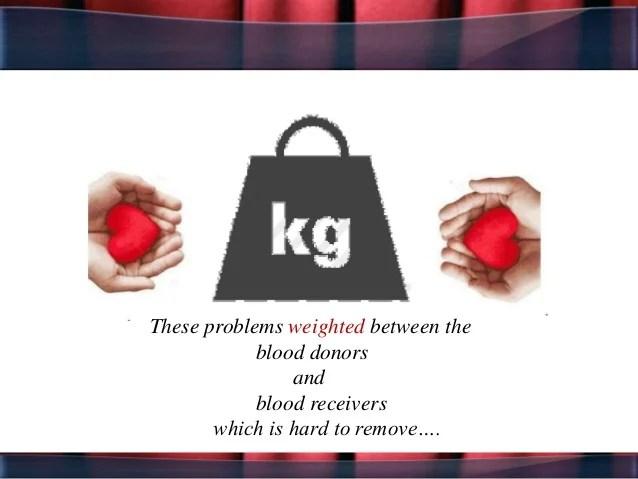 Blood Transfusion app