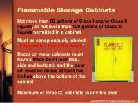 Flammable Liquids Cabinet Grounding