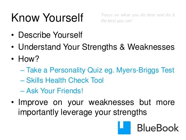Blue book employability skills