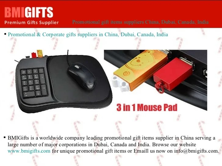 Bmigifts Is A Worldwide Company Leading Promotional Gift
