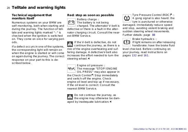 Bmw I Warning Symbols List Best BMW Series - Warning signs on bmw dashboard