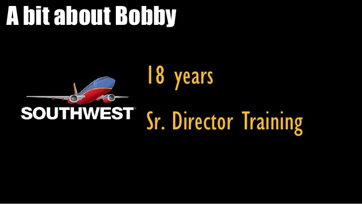 Southwest Airlines The secrets of our success! By Bobby Loeb