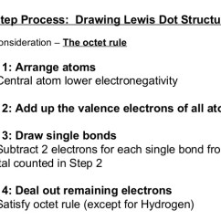 Lewis Dot Diagram Steps 3 5 Briggs And Stratton Carburetor Electronegativity Bond Type Drawing Structures 2 4 Step Process