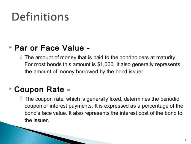 Bond Valuation Financial Management