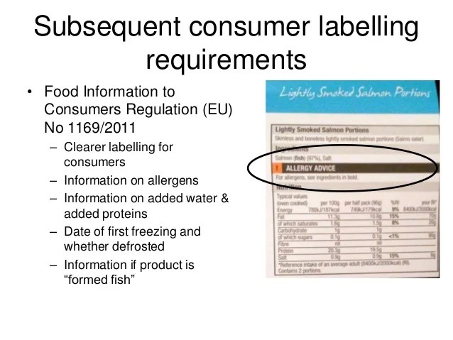 The development and implementation of European regulations ...