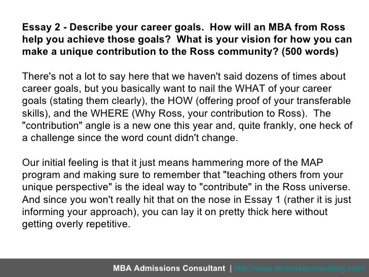 Future Career Essay Goal Your Plans INPIEQ Goals Examples