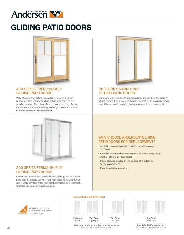 brochure 400 200 series window door