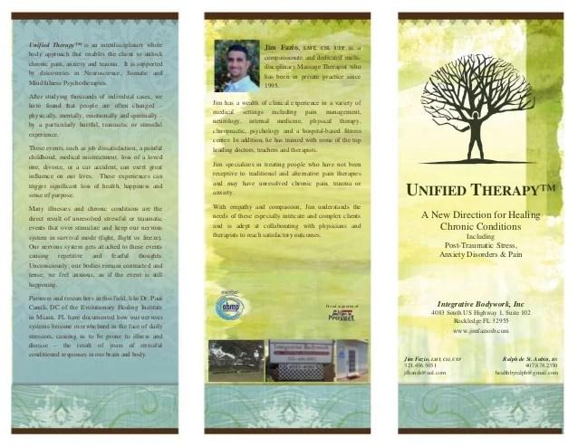 Brochure Integrative Bodywork Inc