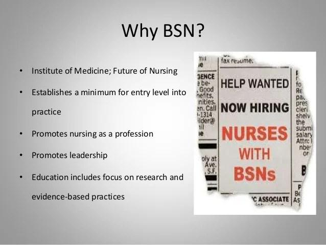 Will you BSN
