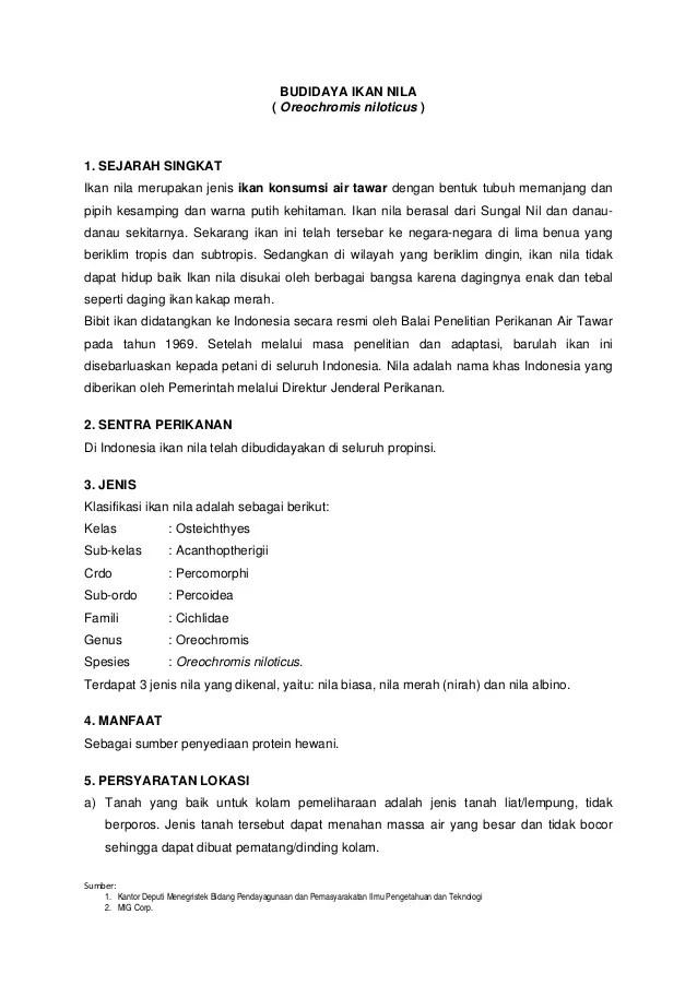 Contoh Proposal Usaha Abon Ikan Lele Berbagi Contoh Proposal Cute766